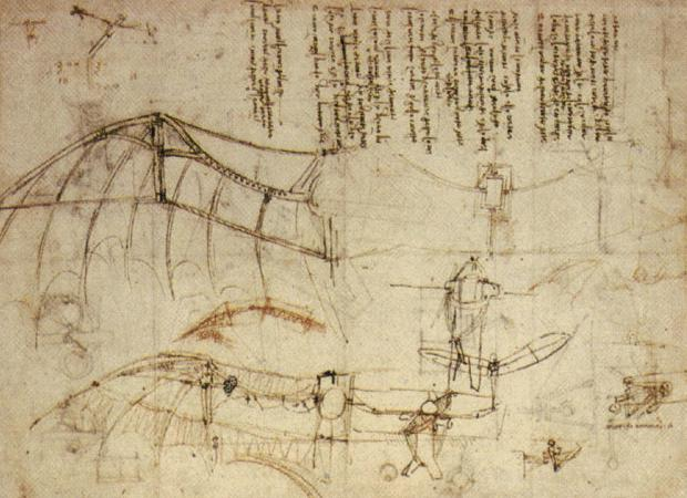 Leonardo_Design_for_a_Flying_Machine,_c._1488